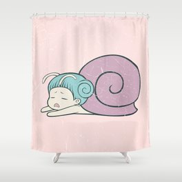 Laziness Shower Curtain