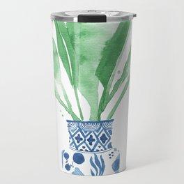 Ginger Jar + Bird of Paradise Travel Mug