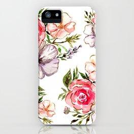 Romantic Bouquet iPhone Case