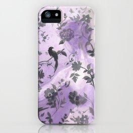 Wallflower (in Violet) iPhone Case