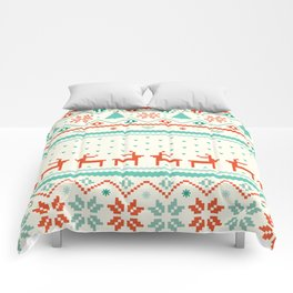 Festive Fair Isle Comforters