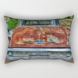 Route 66 Oldsmobile Rectangular Pillow