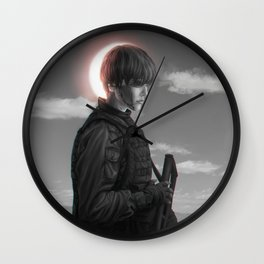 The Last Quarter Wall Clock