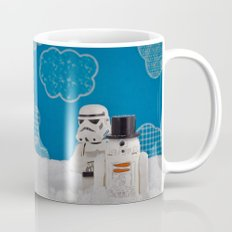 Snowdroid Building on Hoth Mug
