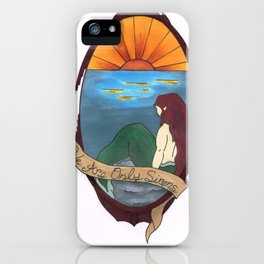We Are Only Sirens iPhone Case