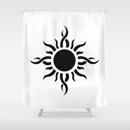 Tribal Sun 2 Shower Curtain