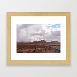 Monumental Road Framed Art Print