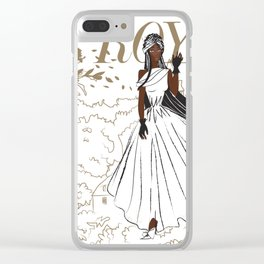 Jewel Royal Clear iPhone Case