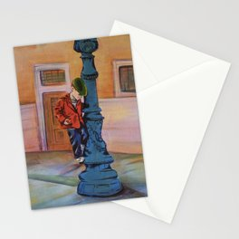 Singing in the rain, the early years Stationery Cards