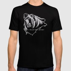 The Bear LARGE Mens Fitted Tee Black