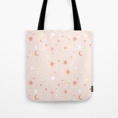 Twinkle Twinkle - Peach Tote Bag