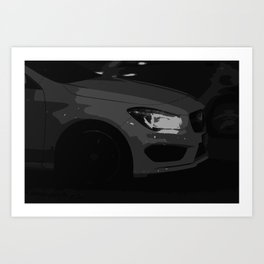 Elegant car Art Print