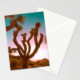 Joshua Tree Desert Sunset Stationery Cards