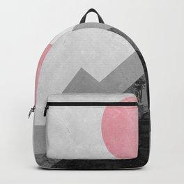 Landscape collage marble XVI Backpack