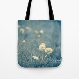 field of wishes Tote Bag