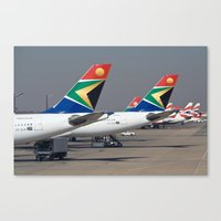 aviation Canvas Prints featuring African Aviation by William Whaley