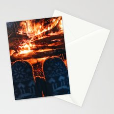 stay warm this winter Stationery Cards