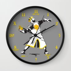 Banksy Python 1-2-5 Wall Clock