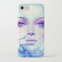 sale iPhone & iPod Cases featuring December by Anna Dittmann