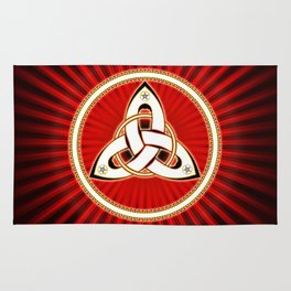 Triquetra - Red Rug
