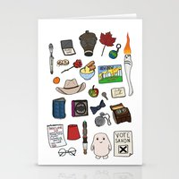 doctor who Stationery Cards featuring Doctor Who by Shanti Draws