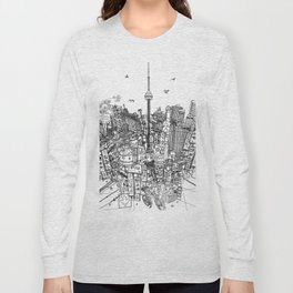 Toronto! (version #2) Long Sleeve T-shirt