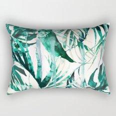 Green Tropical paradise  Rectangular Pillow