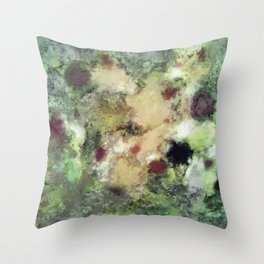 Sediment Throw Pillow