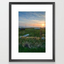 Irish Sunset Framed Art Print