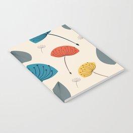 Dandelions in the wind Notebook