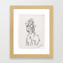 Sketch #8 Framed Art Print