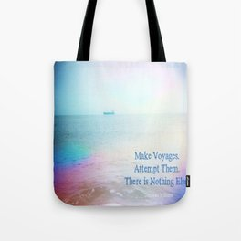Make Voyages Tote Bag