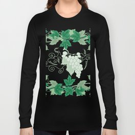 Abstract frame from grapevines Long Sleeve T-shirt