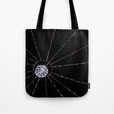 white web Tote Bag