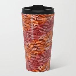 Op Art 104 Metal Travel Mug