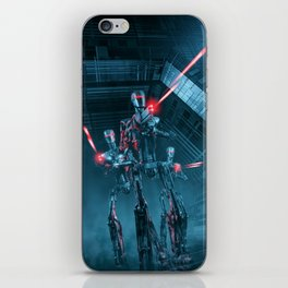 The Assault iPhone Skin