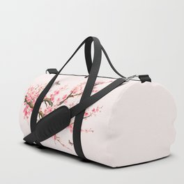 Pink Cherry Blossom Dream Duffle Bag