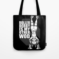 Roller Derby is My Other Wod Crossfit Tote Bag