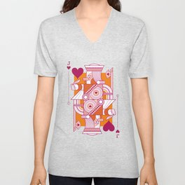 Delirium Jack of Hearts Unisex V-Neck