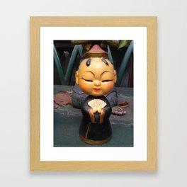 bobblehead Framed Art Print