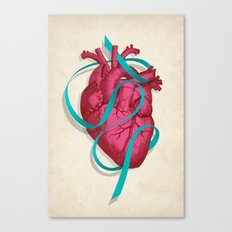 By heart Canvas Print