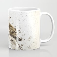Mourning Dove Splatter Mug