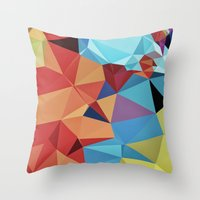 peace Throw Pillows featuring inner peace by contemporary