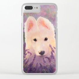 In the lavender fields Clear iPhone Case