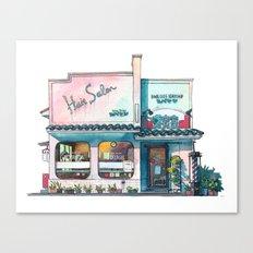 Tokyo storefront #03 Canvas Print