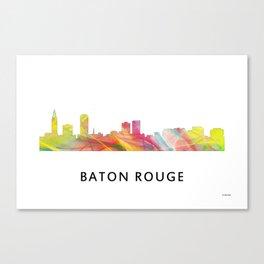 Baton Rouge Louisiana Skyline Canvas Print