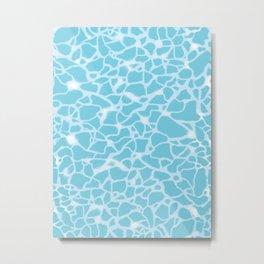 Pool Water Sparkles Metal Print