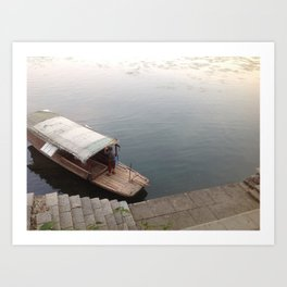 China Stories #2: Drifting Art Print