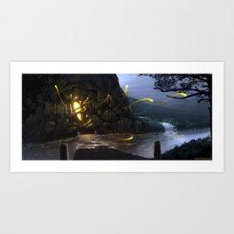 Magical Mine Art Print