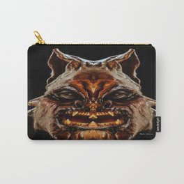 Halloween Mask 01218 Carry-All Pouch